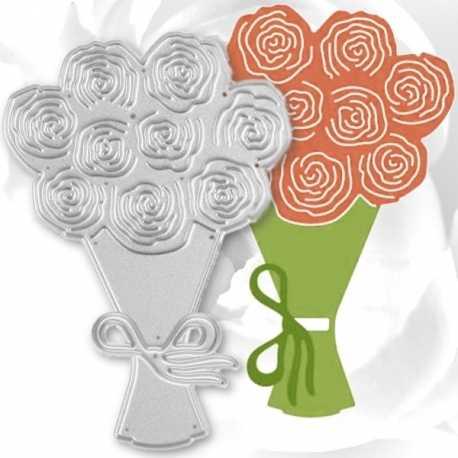 Printable Heaven dies - Flower Bunch (2pcs)