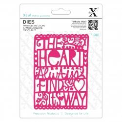 Xcut Dies - Heart Finds Its Way 1pc (XCU 504077)