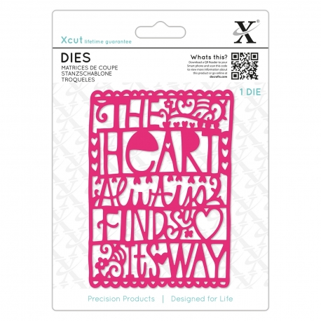 Dies (1pc) - Hearts Finds Its Way (XCU 504077)