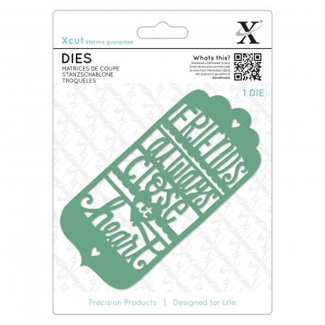 Dies (1pc) - Friends Always Tag (XCU 504076)
