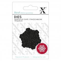 Mini Die (1pc) - Filigree Snowflake (XCU 504006)
