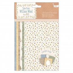 A6 Cards & Envelopes (12pk) - Tales from Willson Wood (PMA 150609)