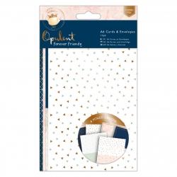A6 Cards & Envelopes (12pk) - Forever Friends, Opulent (FFS 150605)