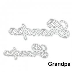 Printable Heaven dies - Grandpa (2pcs)