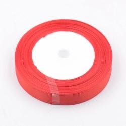 6mm Satin Ribbon - Red (25 yards)