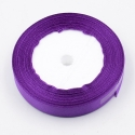 6mm Satin Ribbon - Purple (25 yards)