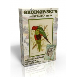 Public Domain Image DVD - Gracius Broinowski's Birds with Australian Wildlife bonus