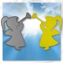 Printable Heaven die - Trumpeting Angel (1pc)