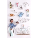 Clear stamp set - Cafe Collection (11pcs)