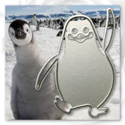 Printable Heaven die - Waving Penguin (1pc)