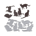 Printable Heaven die - Assorted Cat Set (6pcs)