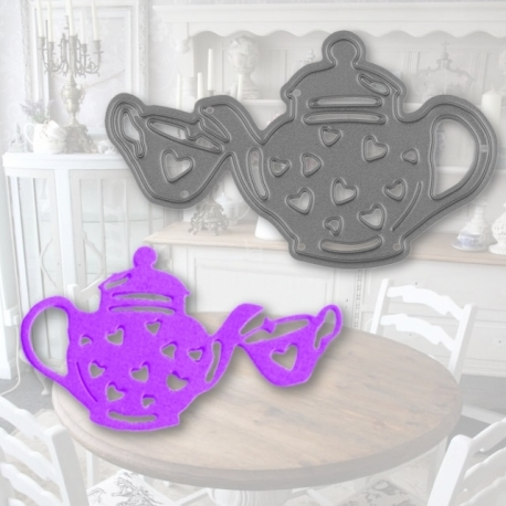 Printable Heaven die - Tea-time (1pc)