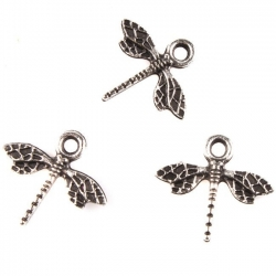 Metal Charms - Dragonflies (25)