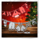 Printable Heaven die - Santa's Washing line (1pc)