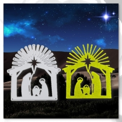 Printable Heaven die - Nativity 2 (1pc)