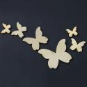 Wooden Butterfly Mix (50pcs)