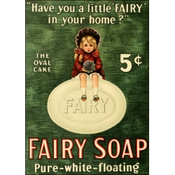 Download - A4 Print - Fairy Soap