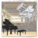 Printable Heaven die - Grand Piano (1pc)