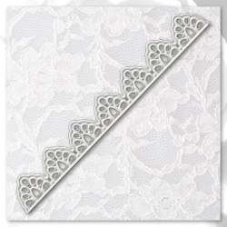 Printable Heaven die - Lace border (small) (1pc)