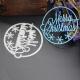 Printable Heaven die - Merry Christmas Circle (1pc)