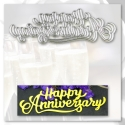 Printable Heaven die - Happy Anniversary (1pc)