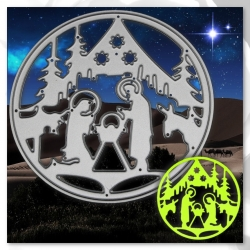 Printable Heaven die - Nativity Circle (1pc)