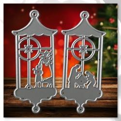 Printable Heaven dies - Nativity Lanterns (2pcs)