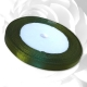 6mm Satin Ribbon - Green (25 yards)
