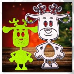 Printable Heaven die - Cheeky Rudolph (1pc)