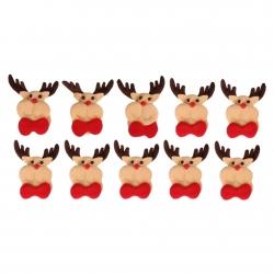Felt Christmas Reindeer (10pcs)