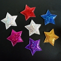 Padded Stars Assorted (50pcs)
