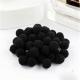 10mm Pom-poms (100 pack) - Black