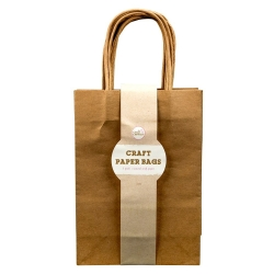 Craft Paper Bags - 5 Pack Product Code: U-80964