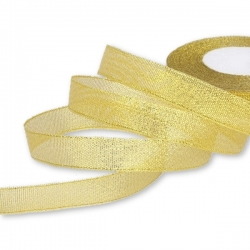 Metallic Ribbon - Wide Gold (15mm)