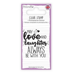 Dovecraft Clear Stamp - Love & Laughter (DCSTP138)