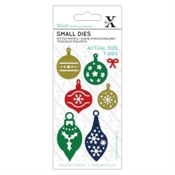 Small Dies - Mini Baubles 7pcs (XCU 504116)