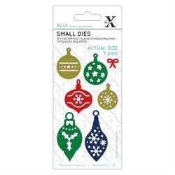 XCU 504116 Small Dies (7pcs) - Mini Baubles