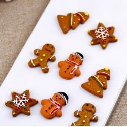 Flatback Gingerbread Shapes