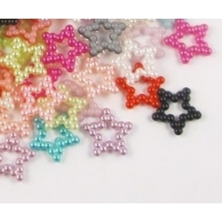 Pearl Stars Hollow - Multi (100pcs)