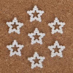 Pearl Stars - White (48pcs)