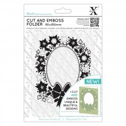 Cut & Emboss Folder - Wreath Aperture (XCU 503943)