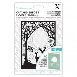 Cut & Emboss Folder - Winter Forest (XCU 503941)