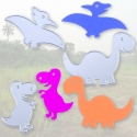 Printable Heaven dies - Dinosaurs (3pcs)