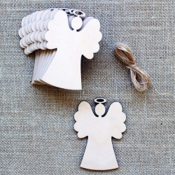 Wooden Angels (10pcs)