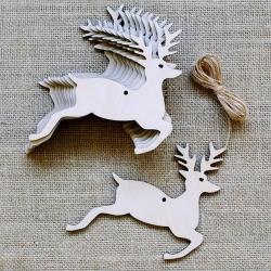 Wooden Reindeer (10pcs)