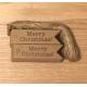 Merry Christmas Tags - Kraft (100pcs)