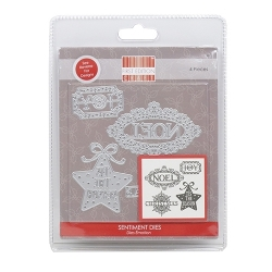 FEDIE193X17 First Edition Christmas Die – Sentiments