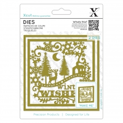 Xcut Dies - Winter Wishes (XCU 503365)