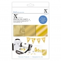 Xcut Xtras A5 Adhesive Foil Sheets (20pcs) - Gold (XCU 174419)