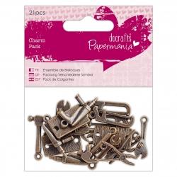 Charm Pack (21pcs) - Papermania Tools (PMA 356013)